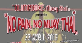 """NO PAIN, NO MUAY THAÏ"""
