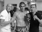With Dylan SALVADOR - 1rst fight in Thaïland ( april 2011)
